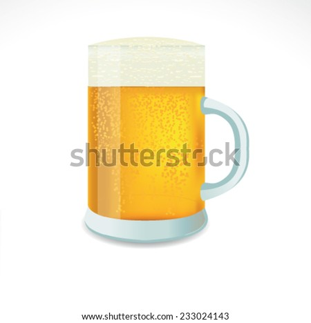 Beer vector - stock vector