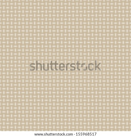 beige fabric texture seamless - stock vector
