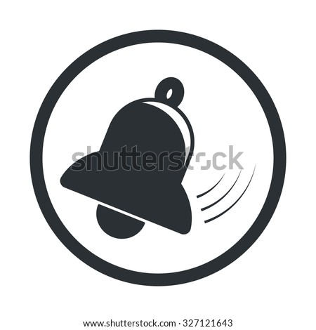 Bell icon. - stock vector
