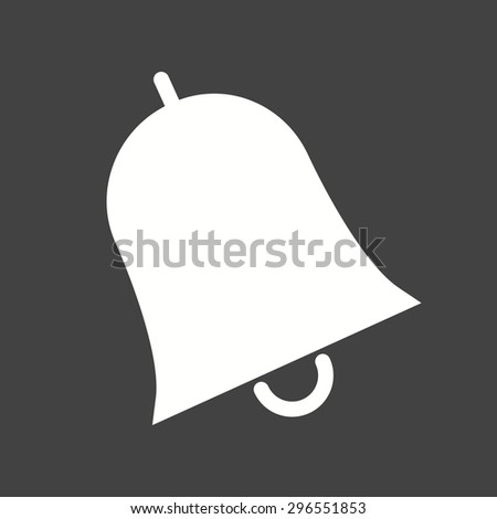 Bell, notification, call icon vector image. Can also be used for education, academics and science. Suitable for use on web apps, mobile apps and print media. - stock vector