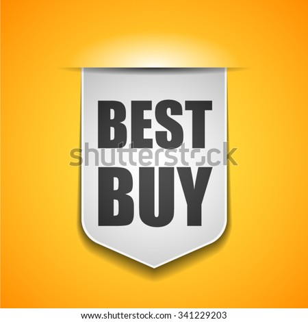 Best Buy tag - stock vector