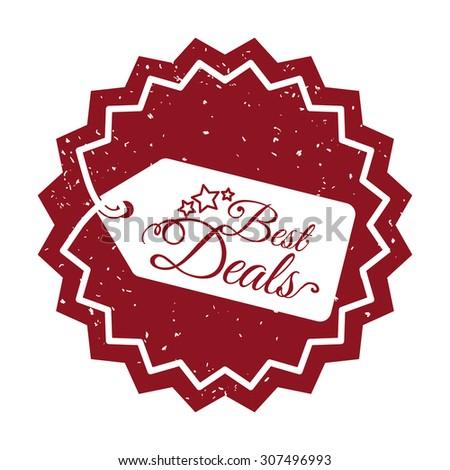 Best deal design, vector illustration eps 10. - stock vector