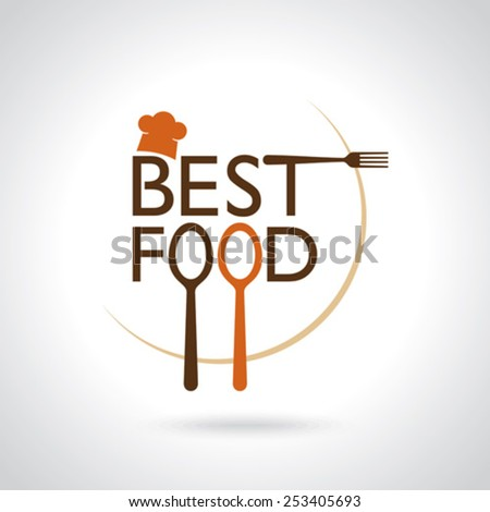 Best Food  Vector Icons, Sign, Symbol Template - stock vector