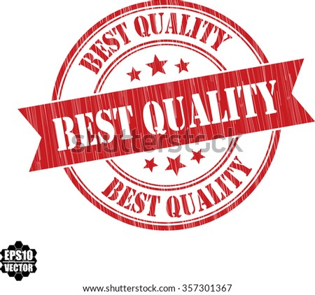 Best quality grunge stamp.Vector. - stock vector