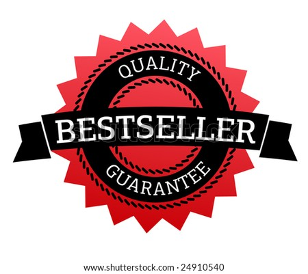 Bestseller. Quality guarantee - stock vector