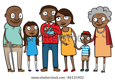 Grandparents Family Stock Vectors & Vector Clip Art ... Grandparents Family Clipart
