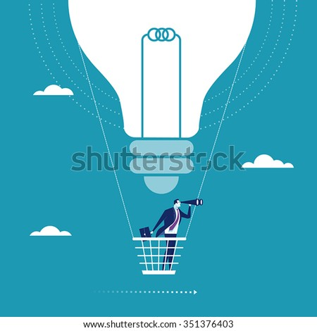 Big Idea. Concept illustration - stock vector