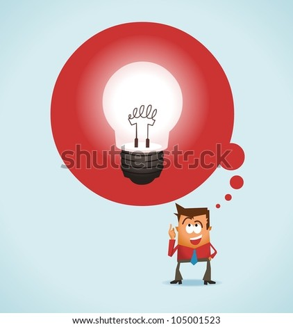 Big Idea. vector illustration - stock vector