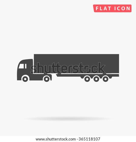 Big Truck Icon Vector. Big Truck Icon JPEG. Big Truck Icon Picture. Big Truck Icon Image. Big Truck Icon Graphic. Big Truck Icon JPG. Big Truck Icon EPS. Big Truck Icon AI. Big Truck Icon Drawing - stock vector