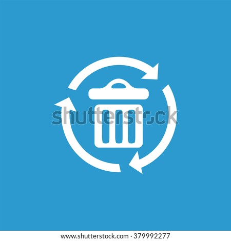 bin recycle Icon Vector. bin recycle Icon Art. bin recycle Icon Picture. bin recycle Icon Image. bin recycle Icon logo. bin recycle Icon Sign. bin recycle Icon Flat. bin recycle Icon design - stock vector