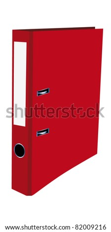 binder - stock vector