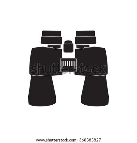 binoculars icon vector - photo #34