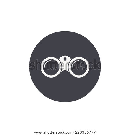 binoculars icon vector - photo #24