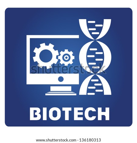 bio technology - stock vector