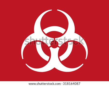 Biohazard Sign - stock vector