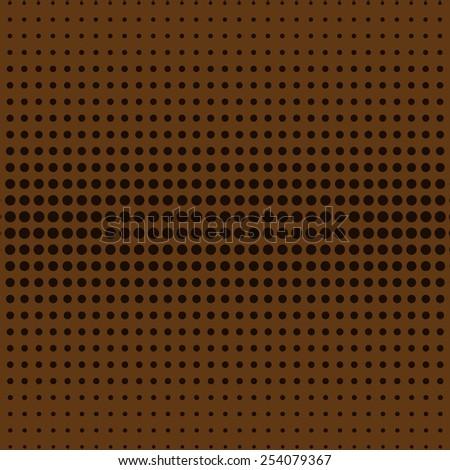 Black Abstract Halftone Design Element, vector illustration - stock vector