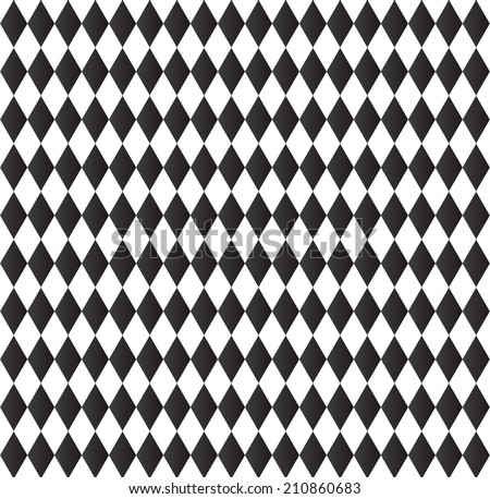 black and white background abstract geometry pattern - stock vector