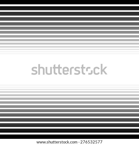 Black and white converging, fading lines abstract background. Vector. - stock vector