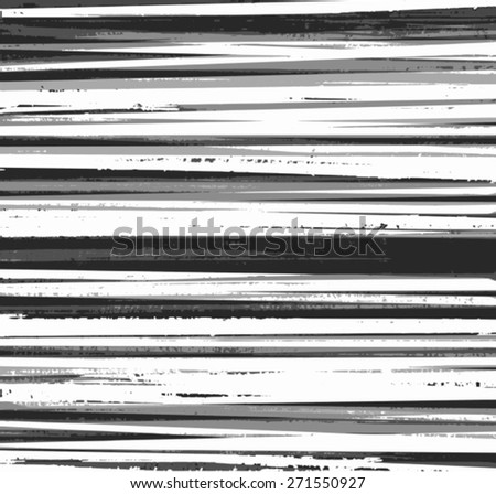 black and white grunge stripes design background - stock vector