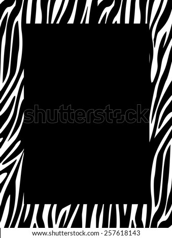 Black and white halftone dotted background and frame - stock vector