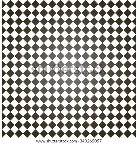 Black and white hypnotic background - stock vector