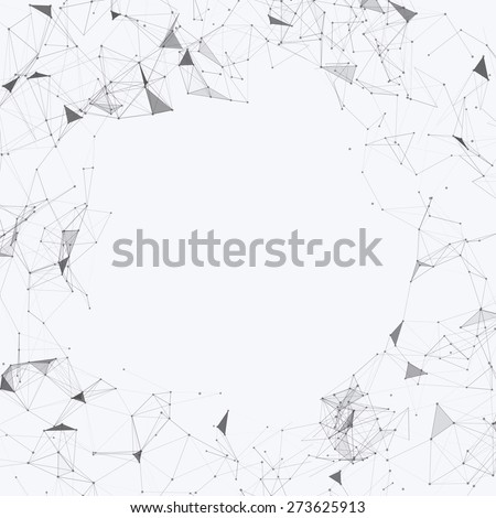 Black and White Mesh Vector Background | EPS10 Design  - stock vector