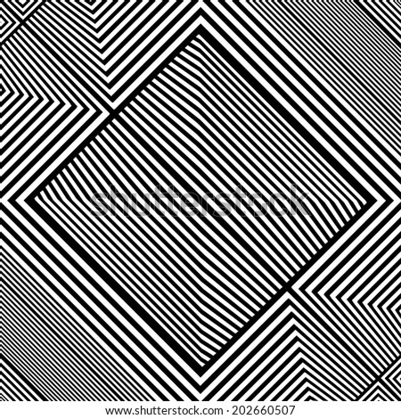Black And White Pattern Vector 71 - stock vector