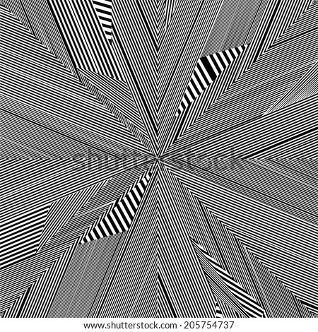 Black And White Pattern Vector 80 - stock vector
