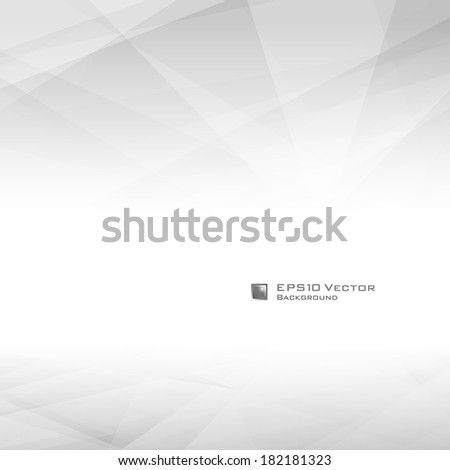 Black and white triangular design background. Lowpoly vector illustration. Used opacity mask of background - stock vector