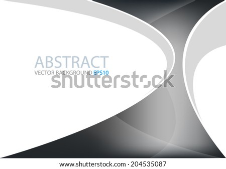 Black background vector for text and message design - stock vector