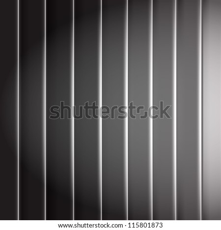 Black Background With Line And Blur, Vector Illustration - stock vector