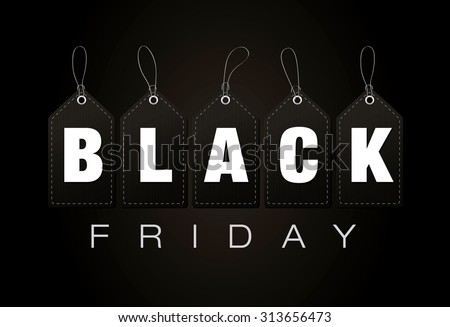 Black friday. Sale - stock vector