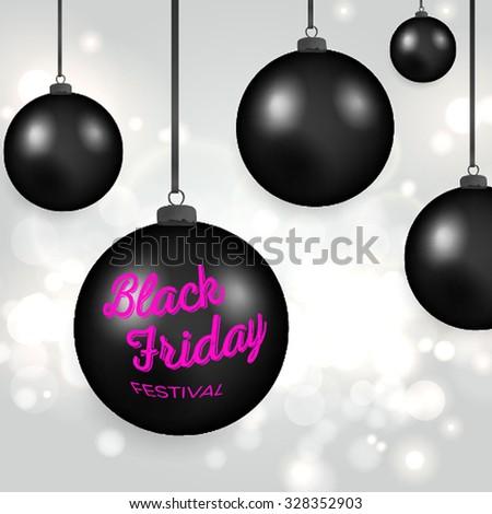 Black Friday Vector illustration. - stock vector