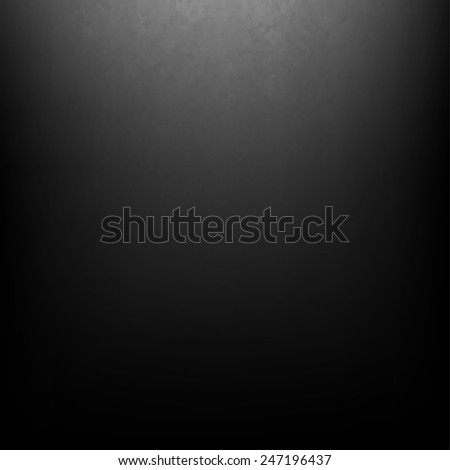 Black Grunge Background With Gradient Mesh, Vector Illustration - stock vector