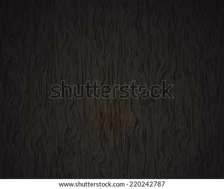 Black hardwood floor vector - stock vector