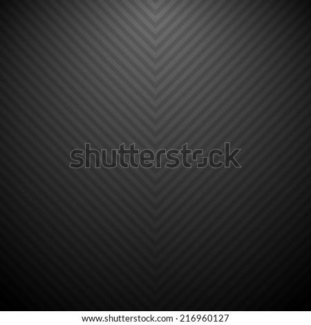 Black striped background - stock vector