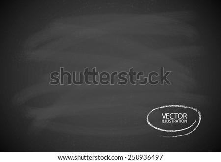 Blackboard texture  - stock vector