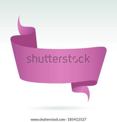 Blank Banner. Vector  - stock vector