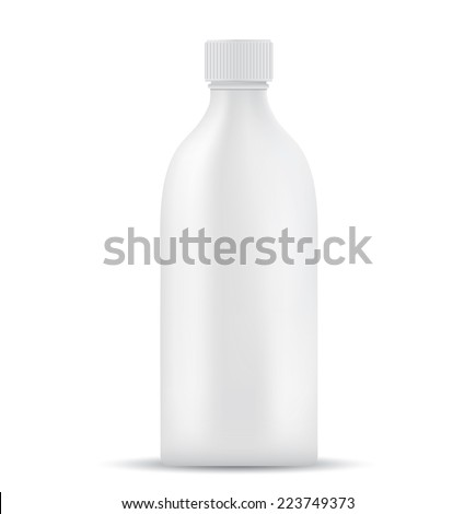 Blank milk or juice pack  - stock vector