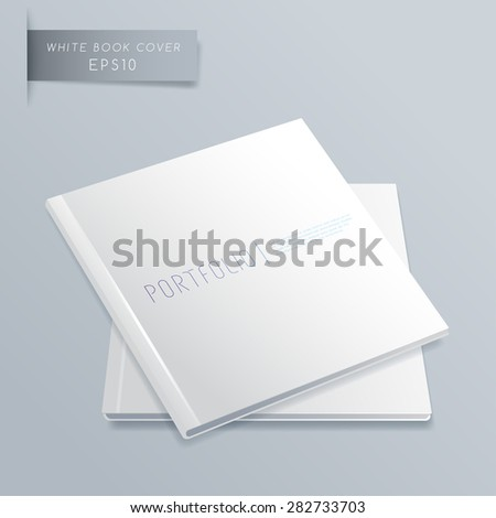 Blank Notebook Template : Vector Illustration - stock vector