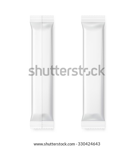 Blank template of packing stick. Vector illustration. It can be used in the adv, promo, packadge, etc. - stock vector