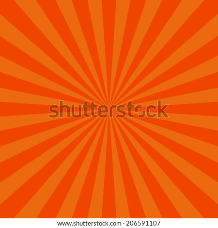 Blank Text Speed - Yellow and Orange Lines graphic effects for comic on red background vector - stock vector