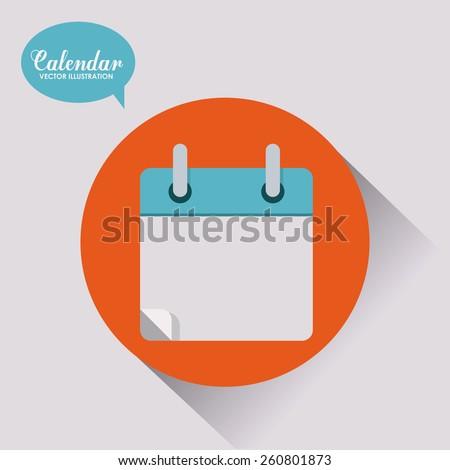 Blog design, vector illustration - stock vector