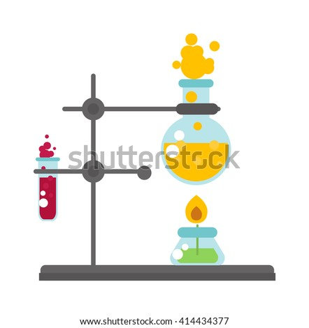 Blood tube for testing in laboratory lab test vector icon. Lab test medical and Lab test chemistry experiment. Lab test tube and biology lab test. Lab test science tube medicine chemistry experiment. - stock vector