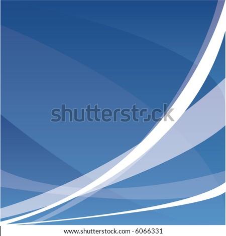 blue abstract backgound - stock vector