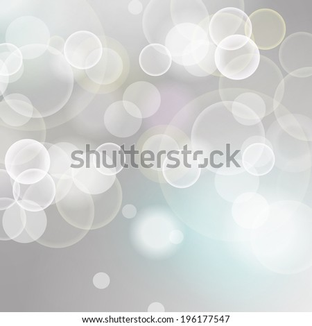 Blue and White Lights Festive background with light beams - stock vector