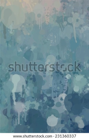 Blue background. Abstract illustration. - stock vector