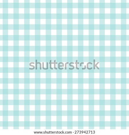 Blue background of plaid pattern - stock vector