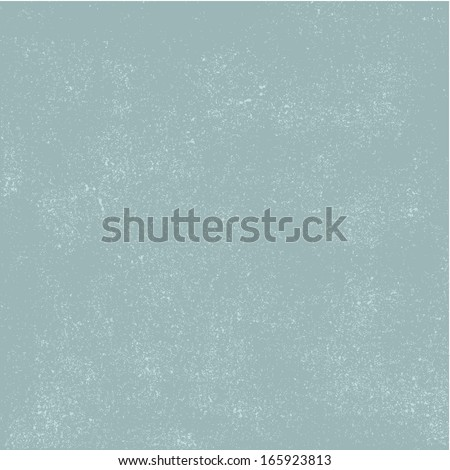 Blue background  with grunge dots - stock vector