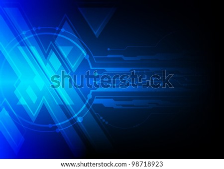 blue cross symbol xtreme, vector background - stock vector